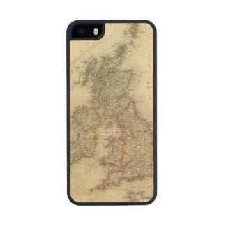 Grossbritannien, Ireland Carved® Maple iPhone 5 Case