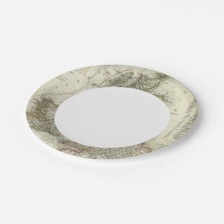 Grossbritannien, Ireland Paper Plate