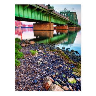 Grosse Ile Parkway Bridge Sunrise II Post Cards