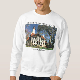 Grosse Point Lighthouse, Evanston Illinois Sweatshirt