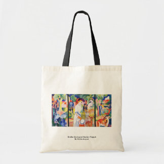 Großer Zoological Garden Triptych By Macke August Bags