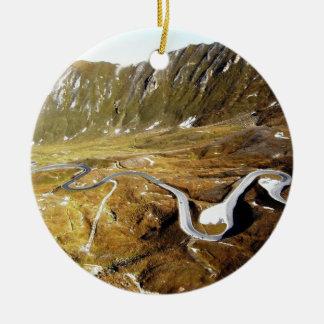 Grossglockner, mountains christmas ornament