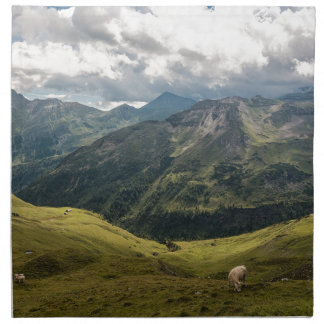 Grossglockner  valley napkin