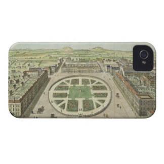 Grosvenor Square, for 'Stow's Survey of London', p iPhone 4 Case