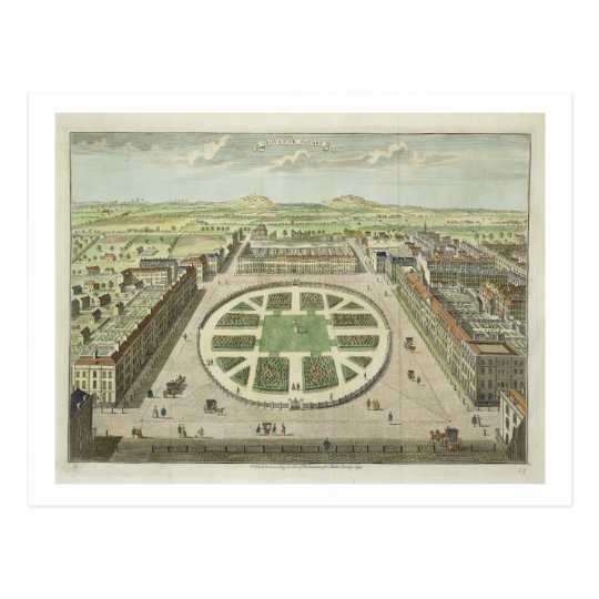 Grosvenor Square, for 'Stow's Survey of London', p
