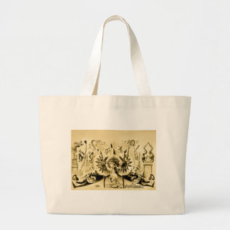 Grotesque Gyrations by Gifted Eccentriques 1900 Tote Bags