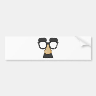 Groucho Glasses (a.k.a. the Beaglepuss) Bumper Sticker