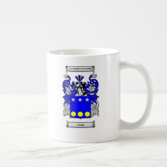 Groulx Coat of Arms Coffee Mug