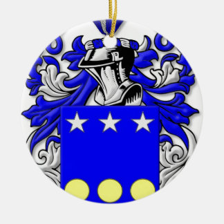 Groulx Coat of Arms Christmas Tree Ornaments