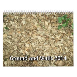Ground and Walls 2014. Calendar