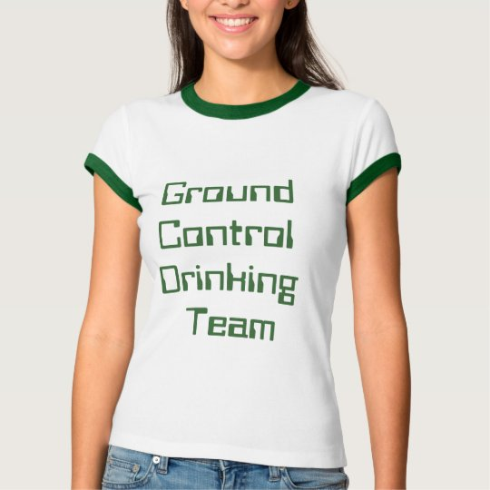 Ground Control Drinking Team T-Shirt