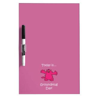 Ground Hug Day Dry Erase Boards