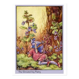Ground Ivy Fairy Postcard
