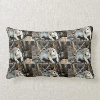Ground Squirrel Accent Lumbar Pillow