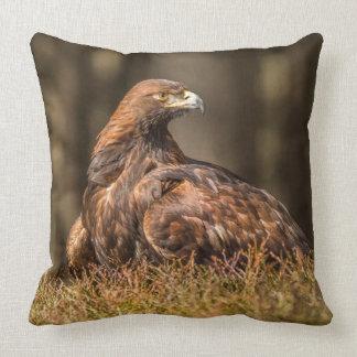 Grounded Eagle Cushion