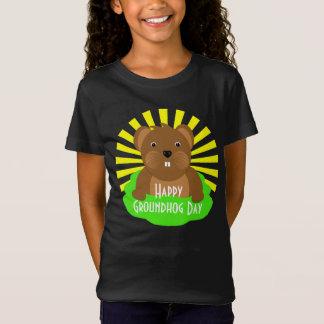 Groundhog Day 2018 Celebration Cute Graphic T-Shirt