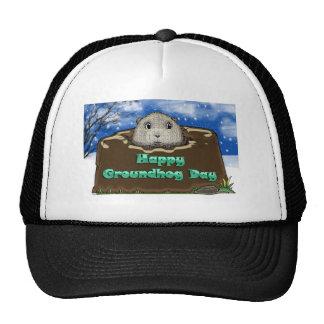 groundhog day cap trucker hat