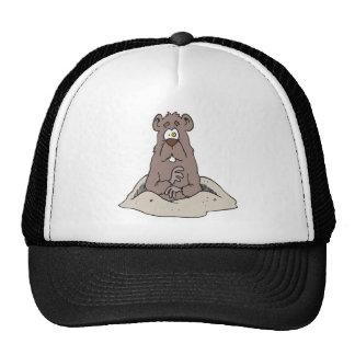 Groundhog Day Mesh Hat
