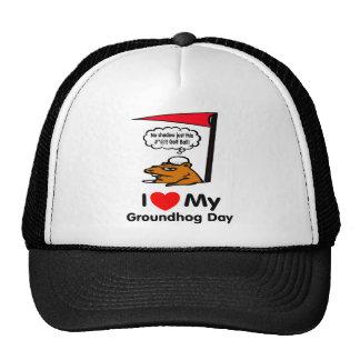 Groundhog Day Mesh Hats