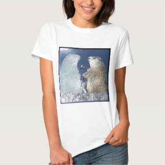 Groundhog Day Ice Sculpture T-shirt