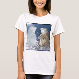 Groundhog Day Ice Sculpture T-Shirt