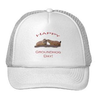 Groundhog Day Kiss Trucker Hat
