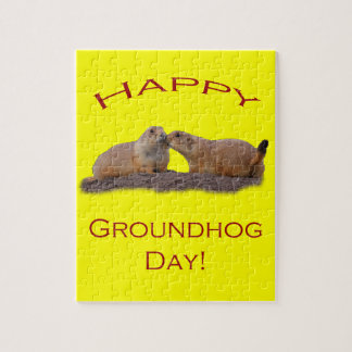 Groundhog Day Kiss Puzzles