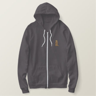 Groundhog Embroidered Hoodies