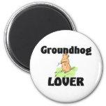 Groundhog Lover Magnet