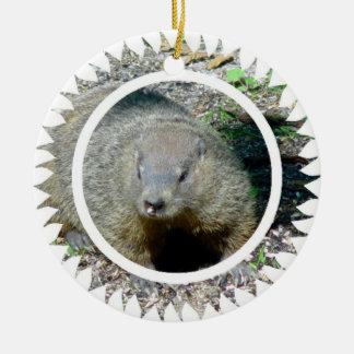 Groundhog Ornament