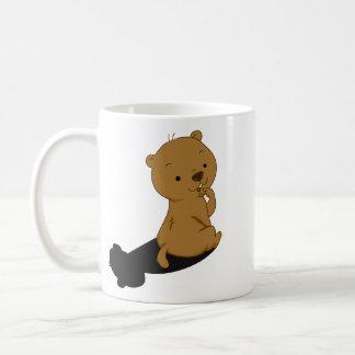 Groundhog Shadow Classic White Coffee Mug