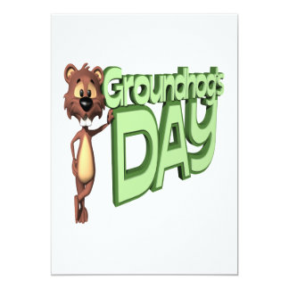 Groundhogs Day Card