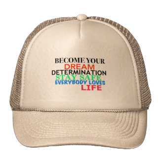 Groundzoomlife ON - Become your Dream Cap