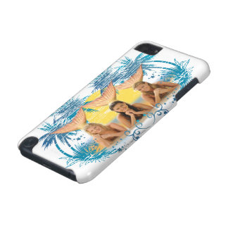 Group Blue Palm Tree Graphic iPod Touch 5G Cover