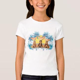 Group Blue Palm Tree Graphic Tshirts