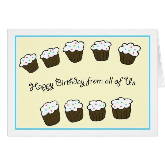 Group Company Business Birthday Card