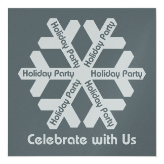 Group Holiday Party Invitation
