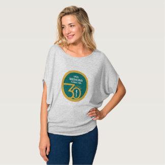 Group MED (Feminin) Top Bella Flowy Circle Tshirt