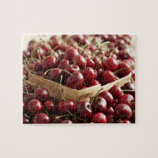 Group of cherries in punnett jigsaw puzzle