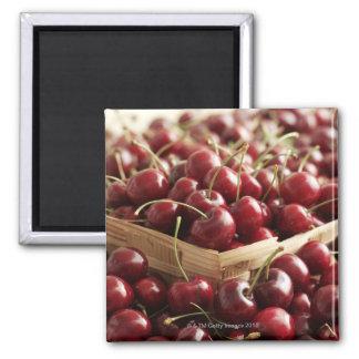 Group of cherries in punnett magnet