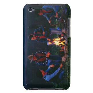 Group of cowboys around campfire Case-Mate iPod touch case