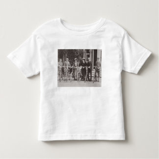 Group of Edwardian bicyclists, early 1900s (b/w ph Toddler T-Shirt