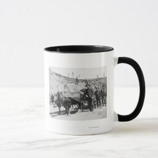 Group of Gold Prospectors Photograph Mug