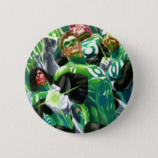Group of Green Lanterns 6 Cm Round Badge