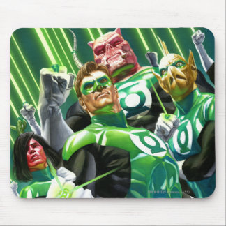 Group of Green Lanterns Mouse Pads
