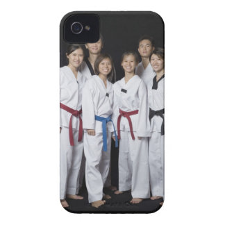 Group of martial arts player standing and Case-Mate iPhone 4 cases