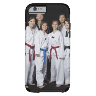 Group of martial arts player standing and tough iPhone 6 case