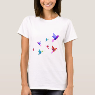 Group of Origami hummingbirds T-Shirt