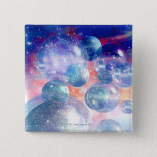 Group of Planets 15 Cm Square Badge