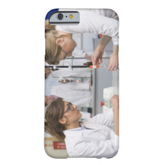 Group of students wearing lab coats and safety barely there iPhone 6 case
